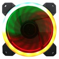 Buy cheap 12v rgb light water cooling fan for colorful control system 120mm fan from wholesalers