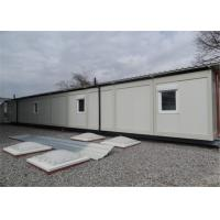 Quality Demountable Accommodation Modular Conex Box Homes with Bathroom for sale