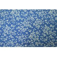 Quality Dyeing Yarn Denim Print Fabric Shrink - Resistant With Custom Made Pattern for sale
