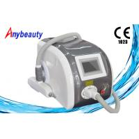 Buy ND YAG Laser Tattoo Removal Machine , freckle Clear Skin rejuvenation Equipment at wholesale prices