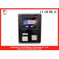 China Compact Kiosk Design Of Wall Mounted Kiosk / EMV Card Payment Terminal For Self-service Telecom Application on sale