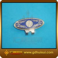 Quality zinc alloy magnet golf hat clips with ball marker for sale