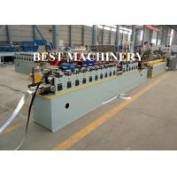 Buy Max 30 m/min Speed Cross T Bar Roll Forming Machine PLC Control at wholesale prices