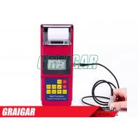 Quality Digital Coating Thickness Gauge  / Wireless Printing Coating Thickness Tester Leeb 262 for sale