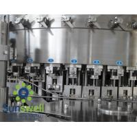 Quality Liquid CSD, cola, wine bottle carbonated  filling machines, water bottling machinery for sale