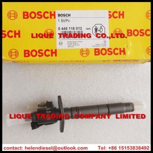 China Genuine and New BOSCH Common rail injector 0445116012, 0445116013, 1980W5,9X2Q9K546DA, 9X2Q-9K546-DB, 9X2Q9K546DB,098643 on sale