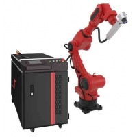 Quality Reprogrammable Robotic 1000W 1064nm Fiber Laser Welder for sale