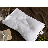 Quality 100% Polyester Fiber Pillow Ball Quilted Microfiber Filling Bolster White Goose Down for sale