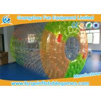 Customized Colorful Inflatable Zorb Ball Toys 0.7mm PVC Material For Water Sports Game
