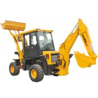 Quality Easy Operate Mini Backhoe Loader 1200 kg Rated Load For Tractor CE Approved for sale