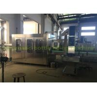 China Rotary Type Drinking Pure Water Filling Machine , Mineral Water Filling Line on sale