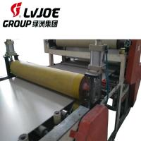 Quality Double Sides Gypsum Ceiling Board Lamination Machine With Edge Banding Machine for sale