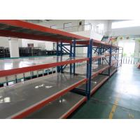 Quality Adjustable Long Span Racking , Industrial Medium Rack With Steel Decking for sale