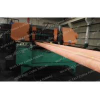 Quality 100mm Red Copper Pipes Continuous Casting Plant , Horizontal Casting Machine for sale