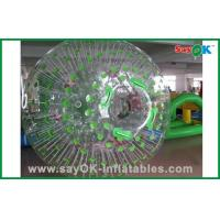 Quality Funny Inflatable Hamster Ball PVC / TPU Transparent For Family for sale