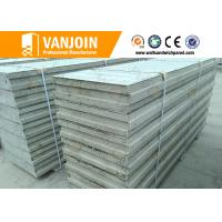 Quality Prefab Insulated Wall Panels , EPS Sandwich Panels Fireproof 4 Hours FRP for sale