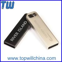 Quality Stainless Metal 32GB 64GB Usb Thumb Drive for Business Man with Key Chain for sale