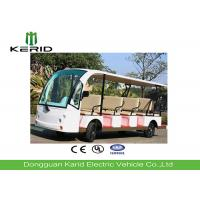 14 Person 4 Wheels Electric Sightseeing Bus Electric Tourist Car with Vacuum Tire