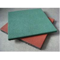 Quality Safety Swimming Pool Rubber Flooring Water Permeable Noise Absorption for sale