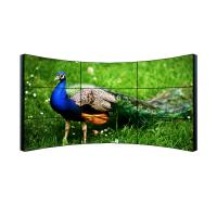 Quality 3x3 Full Hd Lcd Display , Ultra Narrow Bezel Curved 4k Video Wall Display for sale