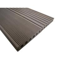 Quality Insects Resistant Solid Plastic Decking , 150*25mm Recyclable Composite Garden Decking for sale