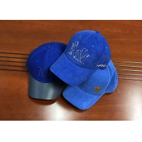 Quality Fashionable different color blue as you want 6panel structured baseball caps hats for sale