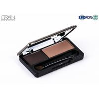 Buy cheap Cosmetics makeup 2 colors in one makeup long lasting waterproof Eyebrow Powder from wholesalers