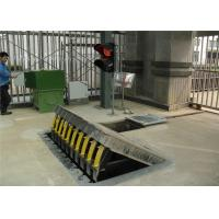 Buy Vehicle Hydraulic Road Blocker / Forceful armor superior protection rising kerb at wholesale prices