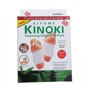 Buy cheap 10pcs Kinoki Detox Foot Pads Patch Detoxify Toxins Adhesive Help Sleep Keep Fit from wholesalers