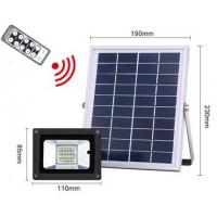 Quality 20led remote control solar led floodlight for sale
