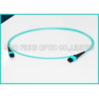 Buy 4.5mm Dual Jacket 24 Cores MPO Fiber Optic Cable Pre-terminated Assembly OFNR at wholesale prices