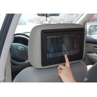 Quality Headrest LCD Mounted 9 Bus Entertainment Monitor For Bus Video On Demand System for sale