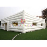 Quality Durable Outdoor Inflatable Tent / Cube Inflatable Camping Tents 20M X 15M for sale