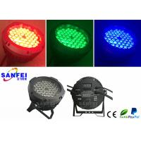 Quality Outdoor Ip65 54pcs 3w 3 in1 Led Par Can / 20 - 60° Zoom Led Stage Lights for sale