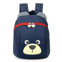 Quality Navy Animal Pattern Personalized Kids Backpacks Durable Backpacks For School for sale