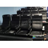 Quality Commercial 4D Cinema Theater With Arc / Flat Screen TMS Systems Compatible for sale