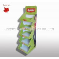 Quality 5 Tier Table Top Banner Banner Display Stand For Food Supermarket for sale