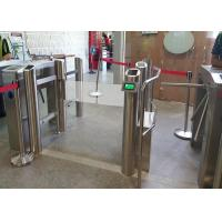 Buy Auto motorized stainless steel swing barrier gate with optional IR sensor at wholesale prices