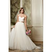 Quality NEW!!! Strapless wedding dress Ball gown Sweetheart Tulle skirt Bridal gown #13704 for sale