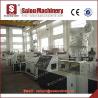 Quality PP PE pipe production line with 16-630 mm diameter for sale