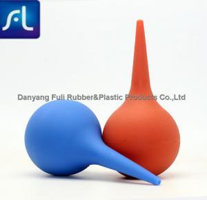 Clear PVC Ear Bulb Syringe Medical Grade Anti Aging Stable Performance