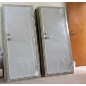 Customized Thickness Marine Doors Single Leaf Aluminium Hollowed Cabin for sale