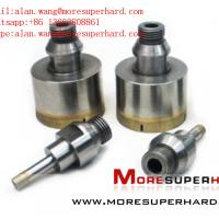 Quality Glass Diamond Drill Bits for oil and geology for sale