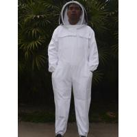 Quality Single Layer Terylene and Cotton Material Beekeeping Protective Clothing with Bee Hat for sale