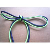 Buy Elastic Polished Cotton Cord Rope , Cotton Braided Cord Eco Friendly at wholesale prices