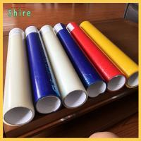 China Different Color Plastic Panel PE temporary Protective Film Glue Adhesive Tapes for sale
