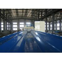 Buy Construction Sheet Roll Forming Machine 914-610 Large Roof Span Color at wholesale prices