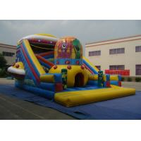 Quality Alien Style Water Park Commercial Inflatable Water Slides For Kindergarten Baby for sale
