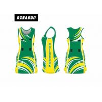 Quality Custom Sublimated Netball Dress Uniform For Girl Moisture-Wicking for sale