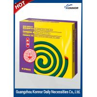 Quality Hotel Smokeless Mosquito Coil , Plant Fiber Mosquito Repellent Coil for sale
